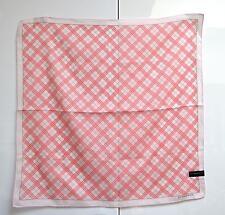 Burberry Small Scarf Pocket Square Handkerchief Handbag Tie Nova Check Unused