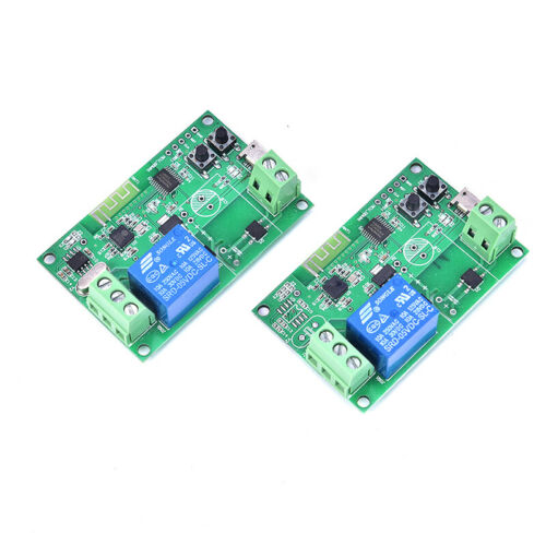 DC5V 12V 24V 32V Wireless WiFi Smart Switch Inching//Self-Locking Module FF