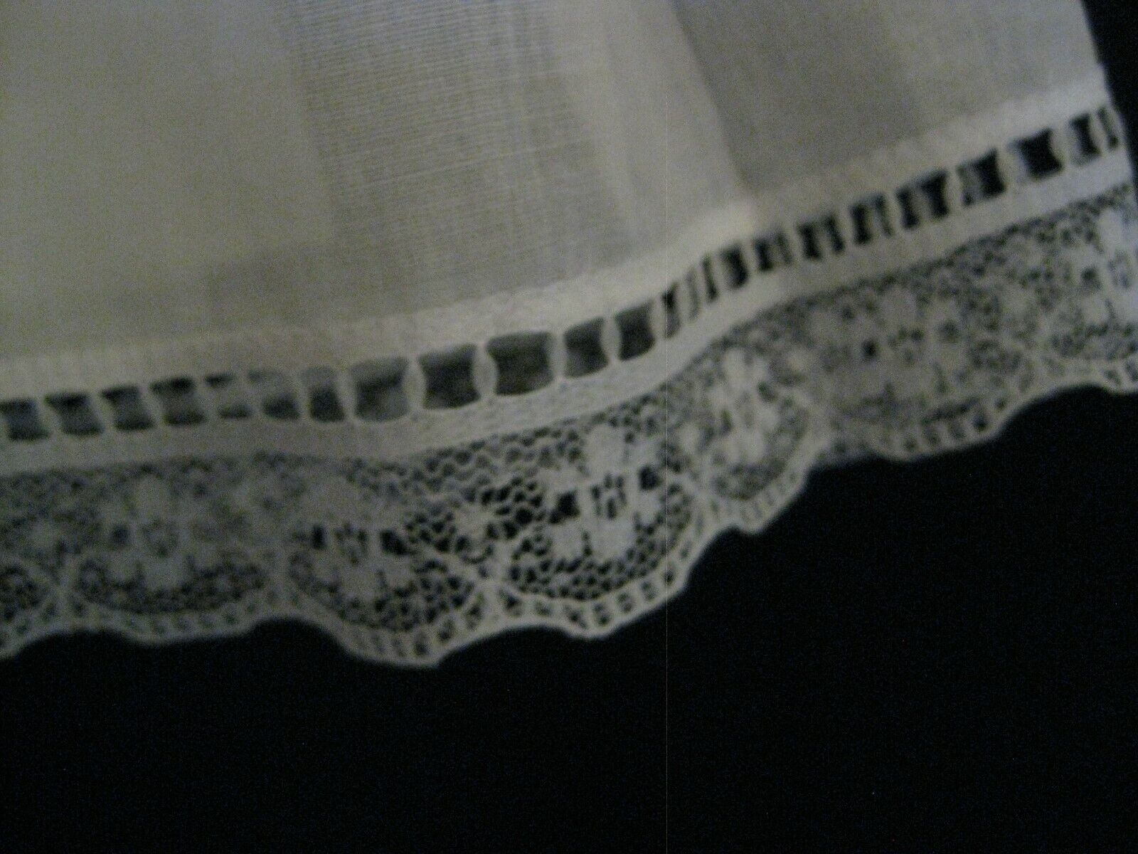 Gunne Sax White Dress Girls Size 12 Pre-Owned - image 10