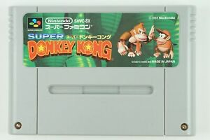 Super-Donkey-Kong-SNES-Nintendo-Super-Famicom-From-Japan