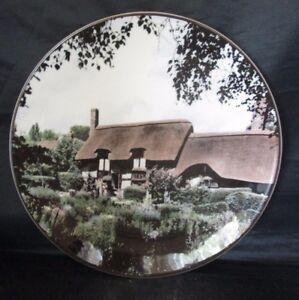 Anne-Hathaway-039-s-Cottage-Shottery-Collector-Plate-TC1027-Royal-Doulton