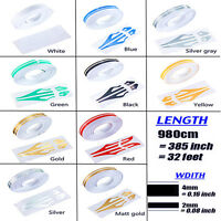 1/2'' Pin Striping Stripe Vinyl Tape Decals Stickers 12mm Fr cars Motorcycles UK