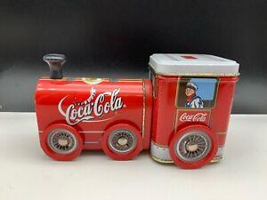 Coca-Cola-Tin-Toys-Locomotive-Can-7-1-8in-Top-Condition