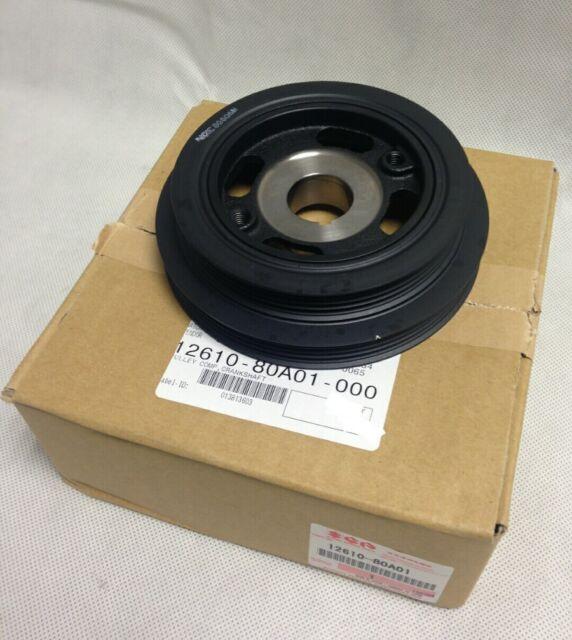 NEW Genuine Suzuki Jimny Crankshaft Crank Pulley Dual Rib Aux Belt 12610-80A01