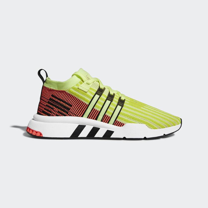 Adidas Originals Eqt Support Mid Adv Pk Primeknit Glow Black Shoes Gym B37436