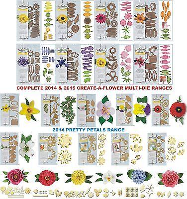 NEW UNIVERSAL FIT SPELLBINDERS PRETTY PETALS A FLOWERS DIE D-LITES