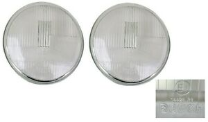 Bosch H1 Asymmetrical Headlight Lens,Set of 2, 911/912/930/912E,911.631.111.00