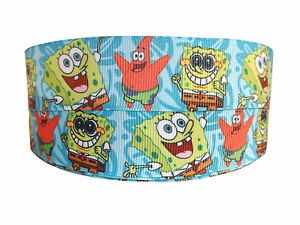 NEW SPONGE BOB amp PATRICK LIGHT BLUE GROSGRAIN RIBBON 2M X 25mm FOR BIRTHDAY CAKE - <span itemprop=availableAtOrFrom>London, United Kingdom</span> - Returns accepted Most purchases from business sellers are protected by the Consumer Contract Regulations 2013 which give you the right to cancel the purchase within 14 days after the day y - London, United Kingdom