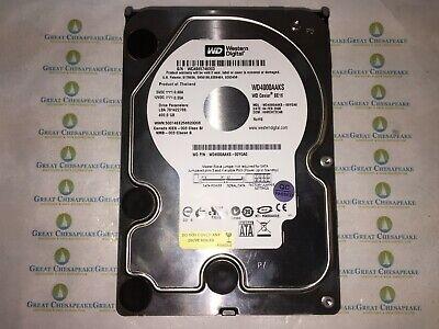 7200RPM 3.0Gp//s Western Digital WD4000AAJS 400GB SATA 3.5 HDD