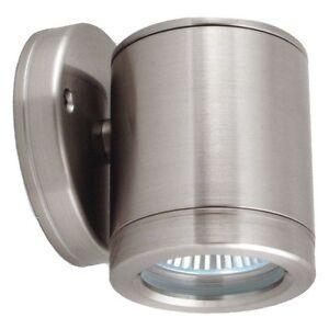Image is loading LED Outdoor Wall Light Marine Grade Stainless Steel LED Outdoor Wall Light Marine Grade Stainless Steel Light Fixed  . Marine Grade Stainless Steel Outdoor Wall Lights. Home Design Ideas