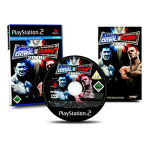 Playstation-2-PS2-Jeu-Wwe-Smack-Down-Smackdown-Vs-Brut-2006-IN-Ovp-avec-Anl