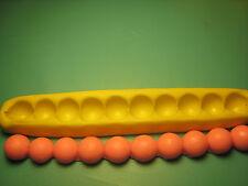 Pearl Jewel Bead Cake Border Silicone Mold Fondant Gumpaste polymer clay #206