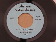 "SHOOTING STARS WATCH THE CLOCK AIRTOWN orig US GARAGE PSYCH 7"" 45 HEAR"