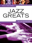 Really Easy Piano: Jazz Greats - 22 Jazz Favourites by Music Sales Ltd (Paperback, 2010)