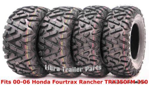 Set 4 ATV tires 24x8-12 /& 24x9-11 00-06 Honda Fourtrax Rancher TRX350FM 350 4X4