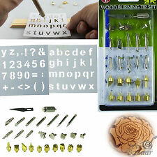 Wood Burning Kit Woodworking Craving Tools 28 Piece Craft Tips Woodburning Set