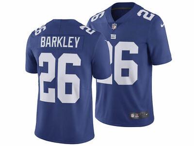 Saquon Barkley Men/'s Game Royal Jersey Giants