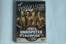 WWE - Vengeance 2001 - One Undisputed Champion (The Rock, Undertaker...) DVD