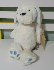 BLUE 23cm Chistopher Collection Toby Dog Cute Cuddly Plush Soft Animal Toy