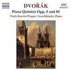 Antonin Dvorak - Dvorák: Piano Quintets, Opp. 5 & 81 (2003)