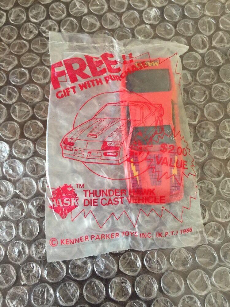 Vintage M.A.S.K. Kenner Thunder Hawk Diecast Sealed 1/64 Car Mask Mail Away MASK