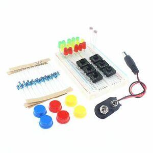 Intelligente Elektronik Starter Kit arduino uno r3 mini Breadboard LED  taste