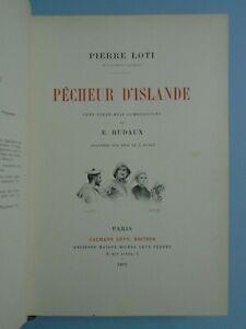 PIERRE-LOTI-PECHEUR-D-ISLANDE-ED-CALMANN-LEVY-1893-GRAVURES-SUR-BOIS-DE-HUYOT