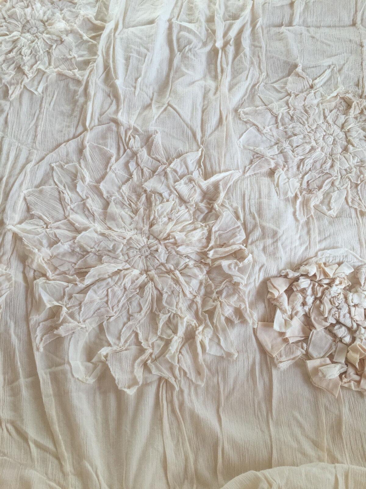 Georgina Bedding Ivory Bettbezug 2,05m X 1,68m von Anthropology