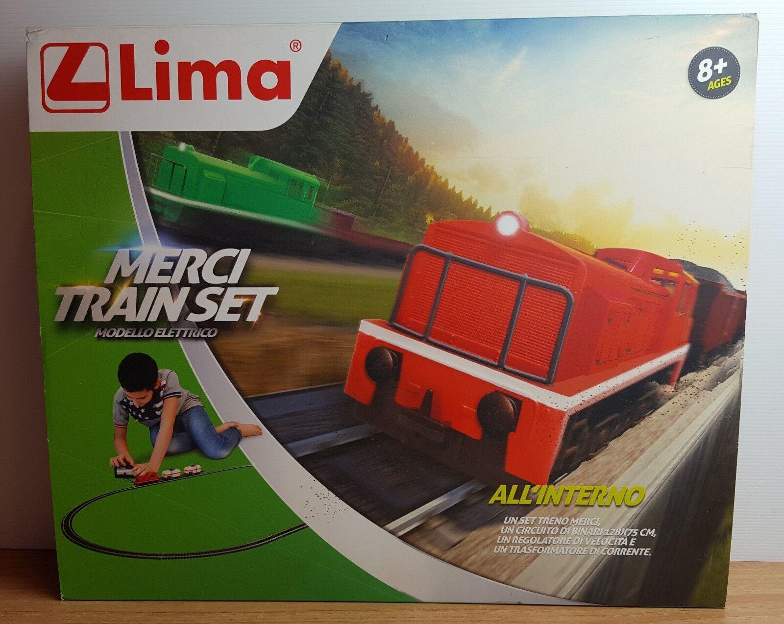 LIMA STARTER SET HO TRENO MERCI HL1046B - NUOVO FACTORY SEALED
