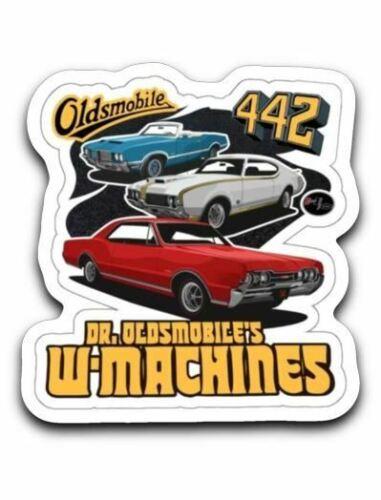 Oldsmobile W 1969 Machines 1967 1972 442 /& W30 Sticker Decal