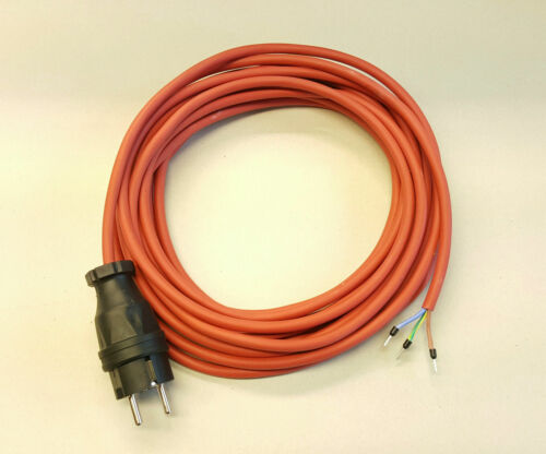 Connessione dispositivi Cavo SIHF SILICONE RESISTENTE CALORE 3x1,5 25m Rosso//Marrone