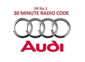 AUDI-Radio-Code-Unlock-Service-FAST-SERVICE-OFFICIAL