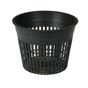Net Pot Mesh Flex Pot Net Cup - AEROPONIC GROW BASKET HYDROPONIC SEED CLONING