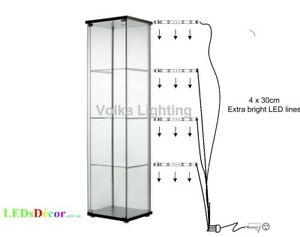 Details About Gl Display Cabinet Lights Cool White
