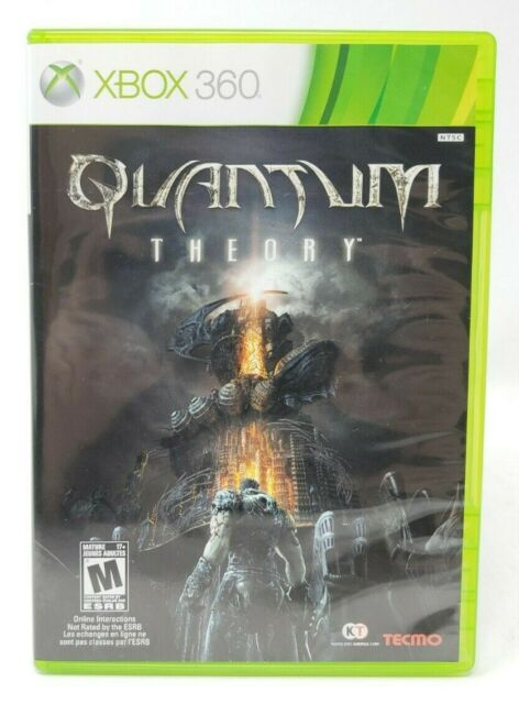 Quantum Theory Microsoft Xbox 360 X360 Game