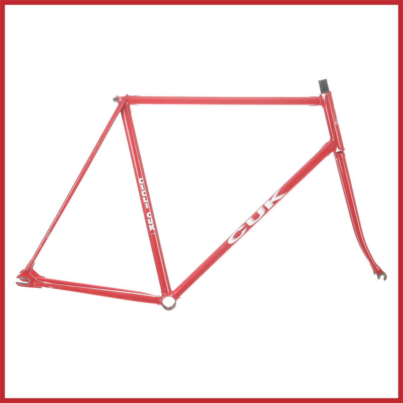 CUK pista Acero COLUMBUS SL Marco Marco 80s Lugs CAMPAGNOLO Vintage Antiguo Bicicleta