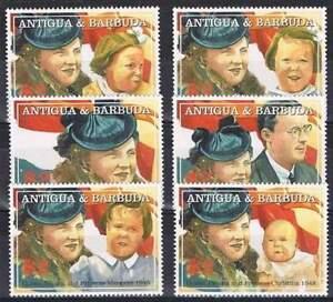 Antigua-amp-Barbuda-postfris-2004-MNH-4158-4163-Juliana-27