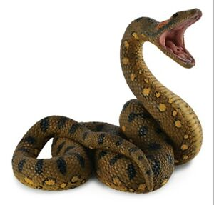 Animals & Dinosaurs Cheap Price Large Anaconda 8 Cm Wild Animals Collecta 88688 Promote The Production Of Body Fluid And Saliva
