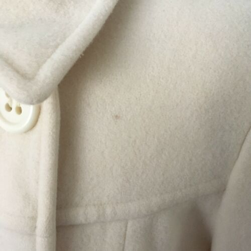 Wool Ashley Laura Beautiful Cream Jacket 14 cashmere coat Uk Formato rtrqdwT
