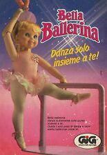 X4059 Bella Ballerina - GIG - Pubblicità 1990 - Advertising