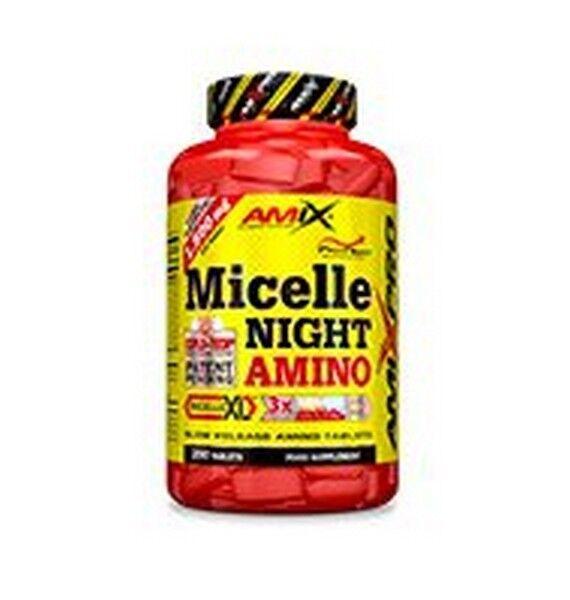 AMIX PRO - MICELLE NIGHT AMINO 250 400tabs - PEPTIDI DA CASEINA