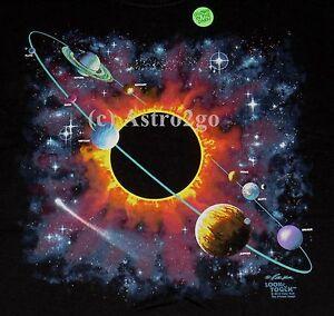 Image Is Loading SOLAR SYSTEM FANTASY Planets Stars Black Hole Sun