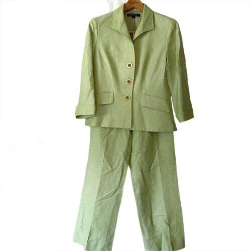 Lafayette 148 New York 2 Piece Pant Blazer Suit S… - image 1