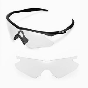 f8348832e10 Details about New Walleva Clear Replacement Lenses For Oakley M Frame  Heater Sunglasses