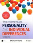 Personality and Individual Differences by Tomas Chamorro-Premuzic (Paperback, 2014)