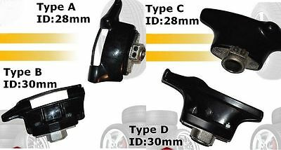 30mm Black Ranger Tyre Tire Changer Nylon Mount Demount Duckhead Plastic Head