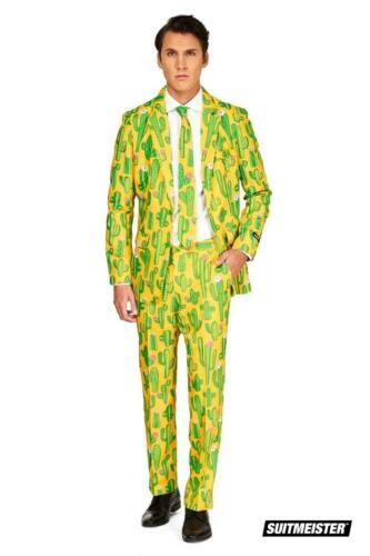 Kaktus Sunshine Mexiko Anzug Kostüm Suitmeister Slimline Economy 3-teilig