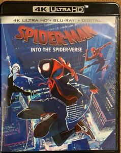 MARVEL-SPIDER-MAN-INTO-THE-SPIDER-VERSE-4K-ULTRA-HD-BLU-RAY-2-DISC-SET-FREE-SHIP