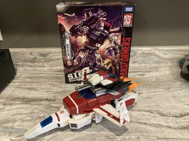 Transformers Siege War For Cybertron JETFIRE Commander Class Adult Displayed