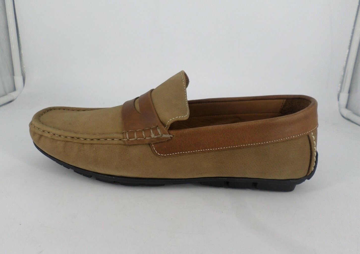 Clásico zapato de conducción Samuel Windsor marrón UK 10.5 EU 45 LN15 95 SALEX